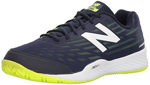 New Balance Men's Hard Court Tennis Shoe, Navy