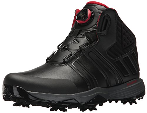 adidas Men's Climaproof BOA Golf Shoe, Black
