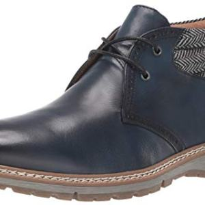 STACY ADAMS Men's Grantley Chukka Lace-Up Boot, Indigo