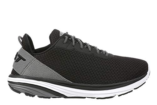 Men's Gadi Black/Grey Lightweight Walking Sneakers