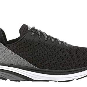 Men's Gadi Black/Grey Lightweight Walking Sneakers