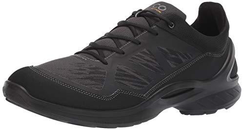 ECCO Men's Biom Fjuel Racer Running Shoe, Black/Dark Shadow