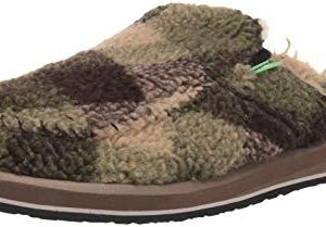 Sanuk Men's You Got My Back II Chill Mule, Brown Plaid