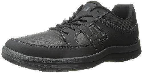 Rockport Men's Get Your Kicks Blucher Black Sneaker