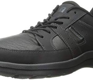 Rockport Men's Get Your Kicks Blucher Black Sneaker