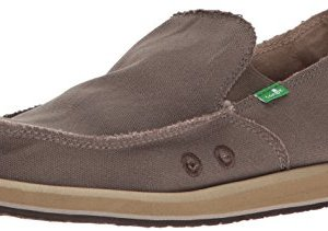 Sanuk Men's Vagabond Slip On, Brindle