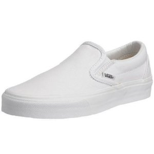 Vans Men Classic Slip-On (White/True White)