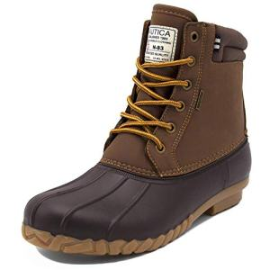 Nautica Mens Duck Boots - Waterproof Shell Insulated Snow Boot