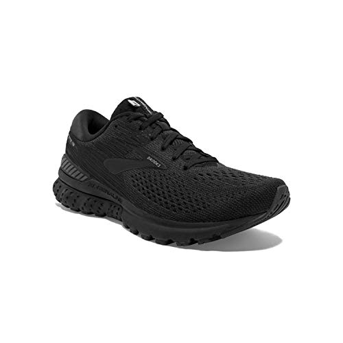 Brooks Mens Adrenaline GTS 19 Running Shoe - Black/Ebony