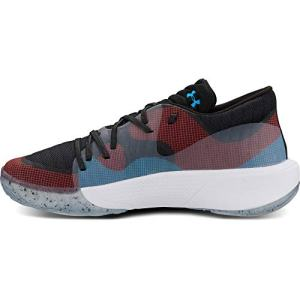 Under Armour Men's Spawn Low Basketball Shoe, Black