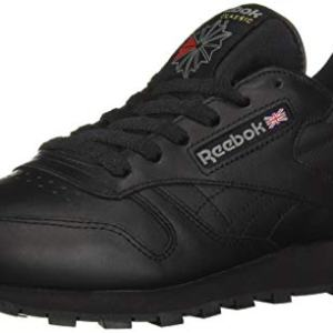 Reebok Men's Cl Lthr Fashion Sneaker, Us-Black