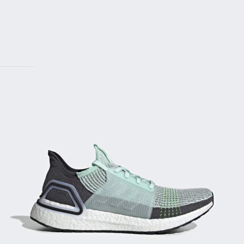 adidas Men's Ultraboost 19 Running Shoe, ice Mint/Grey