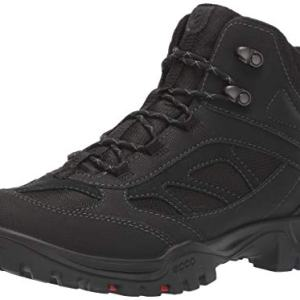 ECCO Men's Xpedition III Gore-TEX Mid Cut Boot, Black/Black