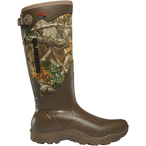 "Lacrosse Men's Alpha Agility 17"" 1200G Waterproof Hunting Boot, Realtree Edge"
