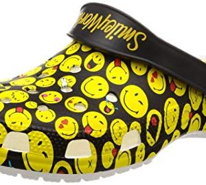 Crocs Unisex-adult Classic Smiley Clog