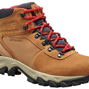 Columbia Men's Newton Ridge Plus II Suede Waterproof Boot, Breathable