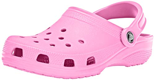 Crocs Classic Clog|Comfortable Slip on Casual Water Shoe, pink lemonade
