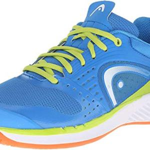 Head Men's Sprint Pro Indoor Low Shoe, Blue/Lime