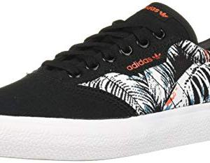 adidas Originals 3MC Sneaker, Black/White/Active Orange