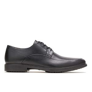 Hush Puppies Men's Turner MT Oxford, Black WP Leather