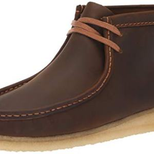 Clarks Men's Wallabee Boot Fashion, Beeswax