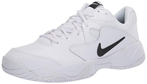 Nike Men's Court Lite 2 Sneaker, White/Black-White-University Gold