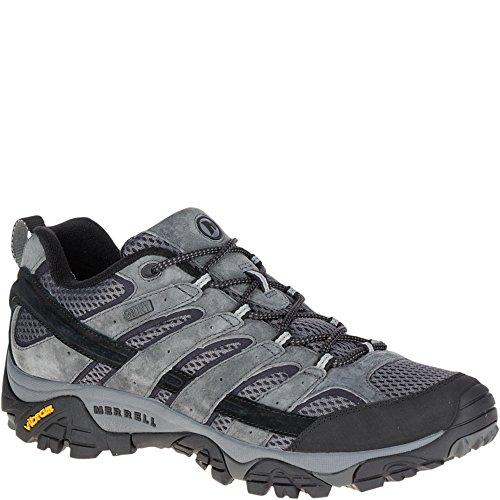 Merrell Men's Moab 2 Waterproof Hiking Shoe, Granite