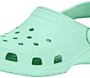 Crocs Classic Clog|Comfortable Slip On Casual Water Shoe, New Mint