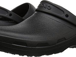 Crocs Specialist II Clog, Black, 17 US Women