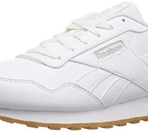 Reebok Mens Classic Harman Run Sneaker, white/gum