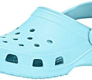 crocs Women's Classic Mule Ice Blue