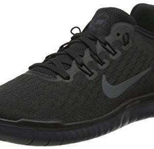 Nike Mens Free RN 2018 Running Shoes (10) Black/Anthracite