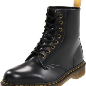 Dr. Martens Vegan Smooth Black Combat Boot
