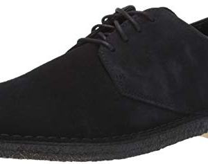 Clarks Men's Desert London Oxford, Black Suede