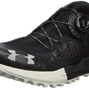 Under Armour Men's Syncline Hiking Shoe, Black (001)/Pitch Gray