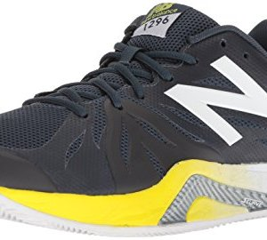 New Balance Men's Hard Court Running Shoe, Dark Green