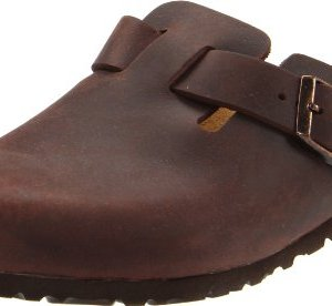 Birkenstock Unisex Boston Clog,Habana Oiled Leather,39 M EU