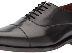 Carlos by Carlos Santana Men's Gypsy Derby Oxford, Black Full Grain Calfskin Leather