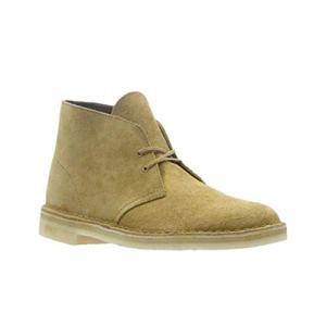 Clarks Men's Desert Chukka Boot, Oak Suede