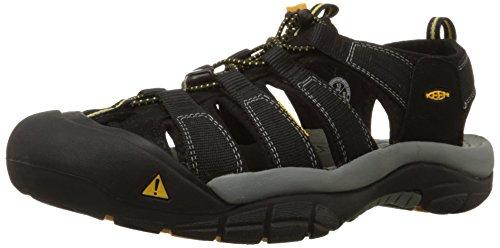 Keen Men's Newport H2 Sandal,Black