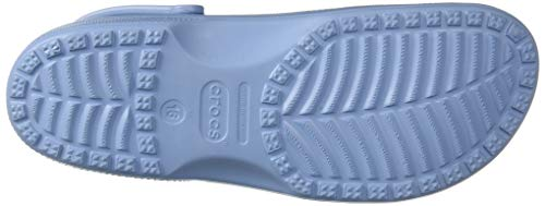 crocs Women's Classic Mule Chambray Blue crocs Women's Classic Mule Chambray Blue - 5 US Men/ 7 US Women M US.