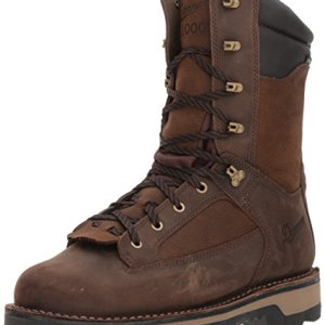 Danner Men's Powderhorn Insulated 1000G Hunting Shoes, Brown, 12 D US