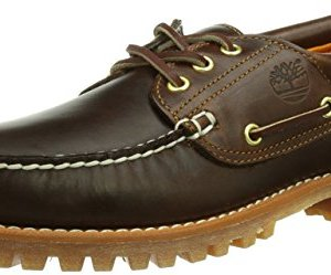 Timberland Men's Earthkeepers 3-Eye Classic Cloth Lined Boat Shoe