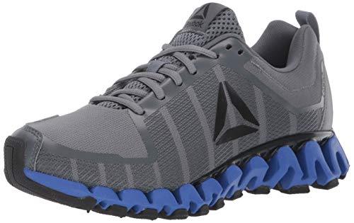 Reebok Men's ZigWild Tr 5.0 Running Shoe, Alloy/Trek Grey/Black