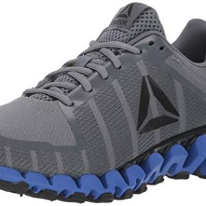 Reebok Men's ZigWild Tr 5.0 Running Shoe, Alloy/Trek Grey/Black