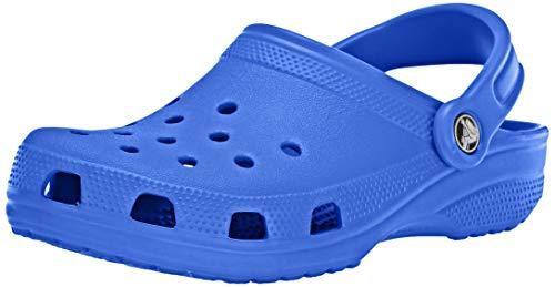 Crocs Classic Clog|Comfortable Slip On Casual Water Shoe, Bright Cobalt