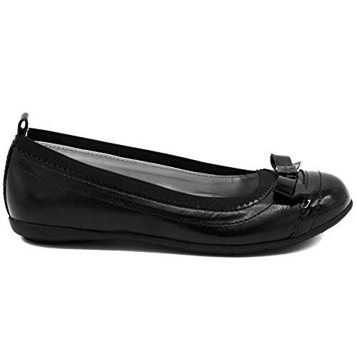 Nautica Girls Flat Mary Jane Oxford School Shoe, Black Bow Brand: Nautica Style: Materials: upper / outsole Toe Style: Closure Type: Nautica Kids Girls Flat Mary Jane Oxford Shoe Black Founded in 1983, Nautica has evolved from a collection of men's outerwear to a leading global lifestyle brand with products ranging from men's, women's, and children's apparel and accessories to a complete home collection. Nautica products are styled with timeless design and premium quality that enhance today's energetic lifestyles, yet they recognize the need and desire for balance.