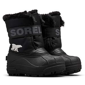 Sorel - Youth Snow Commander Snow Boots for Kids, Black