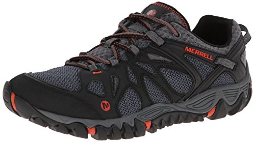 Merrell Men's All Out Blaze Aero Sport Hiking Water Shoe, Black/Red, 9 M US