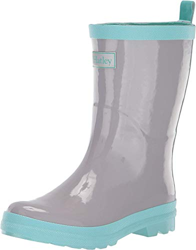 Hatley Kids Girl's ICY Landscape Boots (Toddler/Little Kid) Grey